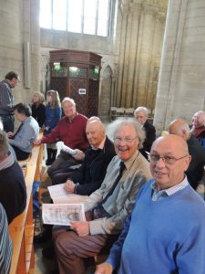 The choir at Peterborough Cathedral 2016