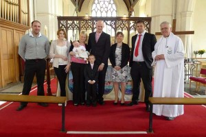 Baptism of Leah Rose Raisbury