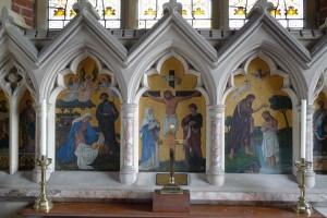 Altar reredos